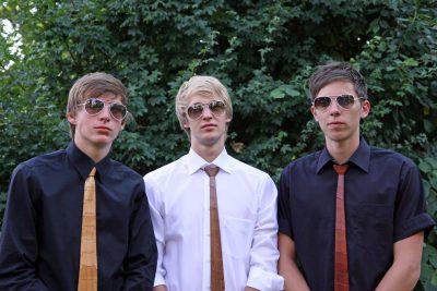 Wie cool ist das denn: Krawatten aus Holz